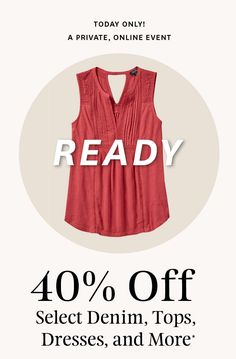 Lucky Brand: 🍀 Lucky Brand Announcement: Get Off Now! News Letters, Lucky Brand, Graphics, Graphic Design, Denim, Tank Tops, Free, Ideas, Dresses
