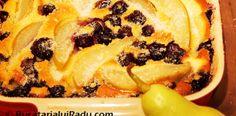 Clafoutis cu pere si afine. Clafoutis cu cirese. Desserts, Food, Postres, Deserts, Hoods, Meals, Dessert, Food Deserts