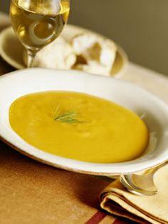 Sopa-creme de mix de legumes
