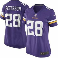 ea40b20a920 Nike Adrian Peterson Minnesota Vikings Women s New 2013 Game Jersey -  Purple Nfl Shop