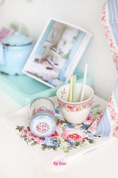 Syl loves, GreenGate, pastels, enamel, flowery patterns  #Sylloves #Giveaway