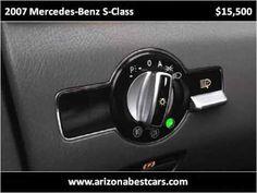 2007 Mercedes Benz S Class Used Cars Phoenix AZ