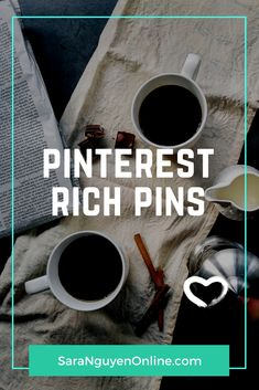 Pinterest Rich Pins Video tutorial: Learn how to set up Pinterest rich pins on your WordPress website to help you get more out of your Pinterest marketing. #pinterest #pinterestmarketing #pinterestmarketingtips #pintereststrategy #socialmedia #socialmediamarketing #socialmediamarketingtips #socialmediamarketingtools #tutorial #entrepreneurship #howto #blogger #blogging #richpins #pinteresttraffic