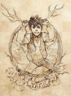 Jack Overland / Frost! :D rotg rise of the guardians