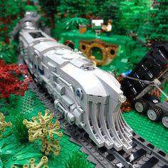 All sizes | The Intrepid tours the PennLug & Texas Brick Railroads at BrickWorld2016 | Flickr - Photo Sharing!