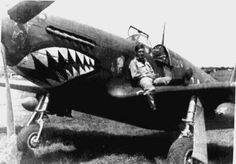 """Mustang Mk III, HB900 GA """"?"""", note """"Wimpy"""" painted by the (unknown, possibly W D Musther) pilot, photo taken July 1944 at Creti LG near Foiana, Italy"""