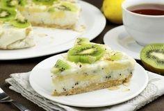 Йогуртовый низкокалорийный торт с киви и бананом » Кулинарные рецепты