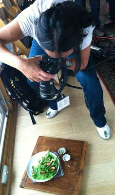 Food photography! I must learn to do this, going to practice sometime. (possible in my free time his winter.)