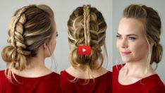 Simple hairstyles that can help you save time Depending on the various activities that women do in everyday life, hairstyles give the first impression of their beauty. It also saves time . Loose Hairstyles, Popular Hairstyles, Protective Hairstyles, Shampooing Sec, Messy Bun With Braid, How To Curl Your Hair, Hairstyle Look, Perfect Curls, Bad Hair