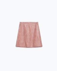 FAUX LEATHER SKIRT - New this week - Woman - COLLECTION AW15 | ZARA United Kingdom