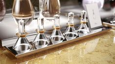Labvert's glass fragrance tester for Dior prevents mixing of scents.