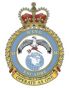 CFB Greenwood - Frank (Nova Scotia) Military Insignia, Military Art, Afghanistan War, Nova Scotia, Coat Of Arms, World War Ii, Badge, Wings, History