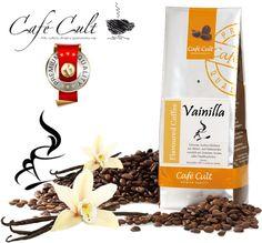 Café Cult Vainilla.  Cultura del Café Gourmet www.mardete.com