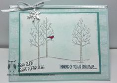 White Christmas by lizzier - Cards and Paper Crafts at Splitcoaststampers