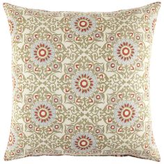John Robshaw Textiles - Gadlo Euro - Mindra - PILLOWS