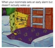 The never-ending alarm: