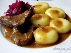 bitki wołowe z kluskami śląskimi I Love Food, Good Food, Yummy Food, Czech Recipes, Polish Recipes, Polish Food, Food For Thought, Fall Recipes, I Foods