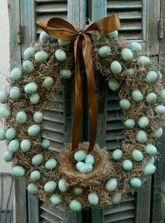 Ostara wreath