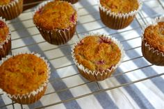 paleo coconut orange raspberry muffins