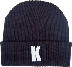 K Acrylic 3d Block Lettering Beanie Hat Black Name State City Team Initial    by GP Accessories  Price: $11.99  Sale: $8.99 & FREE Shipping on orders over $35. Details    You Save: $3.00 (25%)
