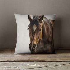 Horse Decor Equestrian Decor Horse Pillow by wfrancisdesign Equestrian Bedroom, Cowgirl Bedroom, Equestrian Gifts, Horse Themed Bedrooms, Horse Gifts, Western Decor, Western Style, Art And Technology, Pet Gifts