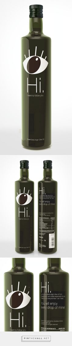 Hi. I want to follow you! Olive Oil by Andreas Kioroglou of Matadog Design for Enios