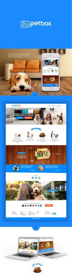www.petbox.peDiseño de logo, key visual y diseño web para PetBox, caja de sorpresas para mascotas. Marca de EasyPet (Veterinaria) Status: Released, On-LineLima, Perú