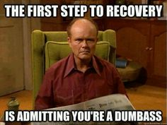 Parenting methods funny memes jokes meme lol comedy laughter humor laughs lmao show clips Memes Humor, Bad Humor, Funny Happy, The Funny, Thats 70 Show, Recovery Humor, Recovery Quotes, Sobriety Quotes, Just In Case