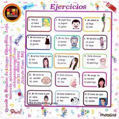 Spanish Basics: How to Describe a Person's Face Spanish Grammar, Spanish Vocabulary, Spanish English, Spanish Words, Spanish Language Learning, Spanish Lessons For Kids, Spanish Basics, Spanish Lesson Plans, Spanish Worksheets