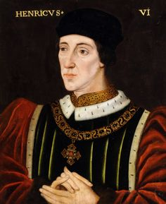 King Henry VI (1421–1471)  Portrait by British (English) School, 16th century