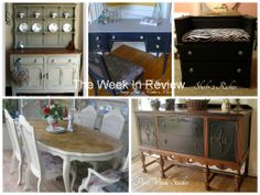 The Week In Review For December 9th - 13th, 2013  - The Amazing After Pictures - Featured On Furniture Flippin'