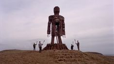 The Wicker Man Horror) HD trailer for the 1973 cult classic starring Christopher Lee and Britt Ekland. Best Horror Movies, Horror Films, Scary Movies, Christopher Lee, Wicker Man, The Exorcist, Best Horrors, Great British, Love