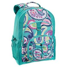 Gear-Up Pool Paisley Backpack #potterybarnteen