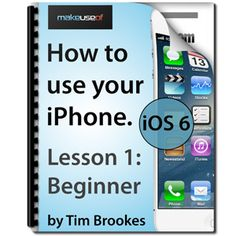 Are you struggling to learn the basics of your iPhone?  If so, then check out our free, in-depth beginner's guide to Apple's premier phone. The first of a three part series of manuals from author Tim Brookes, this 14-lesson guide outlines everything from the lock screen to Safari. Lesson-by-lesson we'll take you through your phone's many functions, from the very basics to more advanced operations and features you might not have even been aware of.
