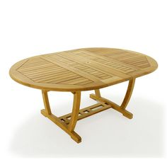 The Martinique Veranda Teak Extension Table is made of Certified Teak Wood. All our teak extension tables come with our Lifetime Warranty. Large Round Table, Oval Table, Square Tables, Teak Outdoor Furniture, Wood Furniture, Furniture Design, Teak Dining Table, Outdoor Dining, Westminster Teak