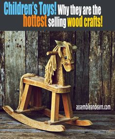 Discover the secret behind HIGH selling children's wooden toys.