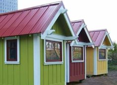 Tiny houses by Dee Mantel