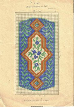 Free Easy Cross, Pattern Maker, PCStitch Charts + Free Historic Old Pattern Books: Loss Pages #1