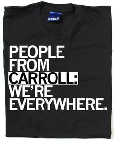 "Totally true!  ""CARROLL"" t-shirt  Free shipping! $22 www.toploftclothing.com"