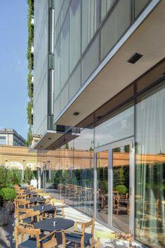 Il vetro taylor made di AGC Flat Glass Italia per l'Hotel Viu Milan Milan Hotel, Taylormade, Flat, Interior Design, Architecture, Outdoor Decor, Home Decor, Italia, Nest Design