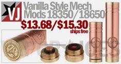 Vapor Joes - Daily Vaping Deals: THE $15.00 VANILLA STYLE MECHANICAL