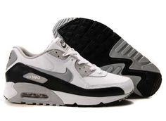 Ken Griffey Shoes Nike Air Max 90 White Grey Black Leather [Nike Air Max 90 - Simple yet fashionable Nike Air Max 90 White Grey Black Leather shoes are characterized with very clean look. Extremely durable upper is made of leather. Nike Air Max 2012, Cheap Nike Air Max, Nike Max, Nike Air Shoes, Air Max Sneakers, Sneakers Nike, Rihanna Puma Creepers, Air Max 90 Black, Louis Vuitton Shoes Sneakers