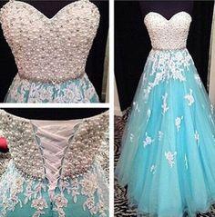 Blue prom Dress,A-line Prom Dresses,https://makerdress.myshopify.com/products/copy-of-blush-pink-prom-dress-long-sleeves-prom-dresses-2016-prom-dress-charming-prom-dress-backless-evening-dress-bd041