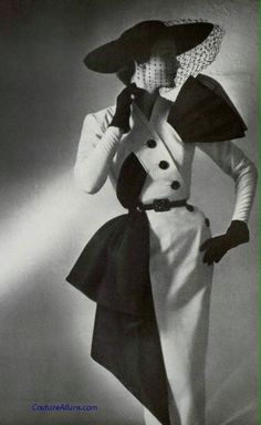 New photography vintage retro jacques fath Ideas Vintage Vogue, Photo Vintage, Vintage Fashion 1950s, Fifties Fashion, Vintage Couture, Vintage Glamour, Retro Vintage, 1950s Fashion Women, Vintage Woman