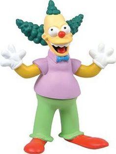 Winning Moves Simpsons Figurines Series 2 Krustylu Studios - Krusty The Clown