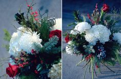 Traditional Hand-tied Holiday Flowers @botanystudio