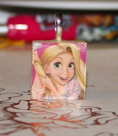 Tangled Rapunzel Scrabble Tile  For Chalee ;)