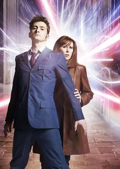 #DoctorWho The Doctor & Donna #DavidTennant #CatherineTate