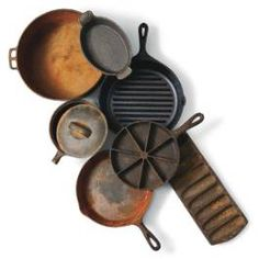 Natural and Thrifty in 365: #246 Restore Cast Iron Naturally
