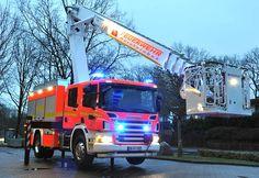 #Magirus Multistar HURW der #Feuerwehr Oststeinbek auf #Scania P270.